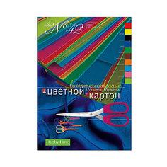 Набор цветного картона № 42 Альт А4, 10 листов