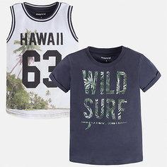 Комплект:футболка,майка Mayoral для мальчика