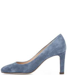 Синие туфли из натуральной замши Högl