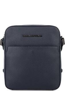Маленькая сумка с широким текстильным ремнем Trussardi Jeans