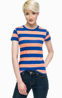 Хлопковая футболка Line 8 в полоску Levis®