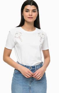 Белая футболка с кружевной вставкой Red Tab Levis®