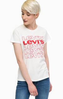 Хлопковая футболка с принтом Red Tab Levis®