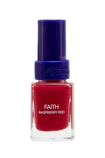 Лак для ногтей Faith / Ягода малина + Bond-подготовка, 9 ml Christina Fitzgerald