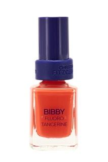 """Лак для ногтей BIBBY Fluoro Tangerine Lacquer Culture / """"Сладкий мандарин"""", 12 ml + Bond-подготовка к покрытию лаком, 9 ml Christina Fitzgerald"""