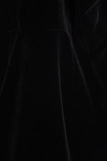 Черное бархатное платье Maison Bohemique