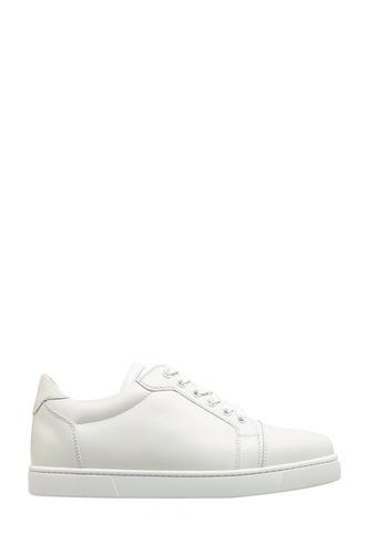 Белые кожаные кроссовки Vieira Flat