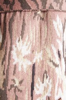 Розовый кардиган с цветами 7КА