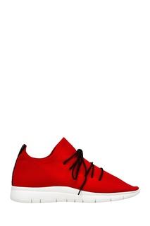 Красные текстильные кроссовки Joshua Sanders