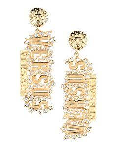 Серьги Versus Versace