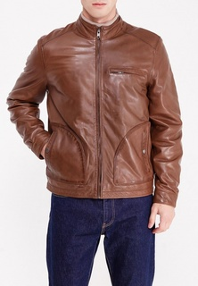 Куртка кожаная Cortefiel