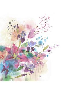 Фотообои Цветы 300x270 Chernilla