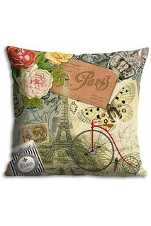 Подушка Парижские мотивы GiftnHome