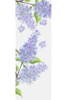 Фотообои Цветы 100х270 Chernilla