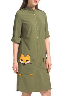 Платье-рубашка Fox YULIASWAY