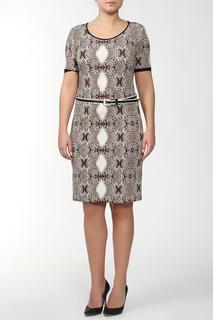 Платье и ремень Angelo Marani