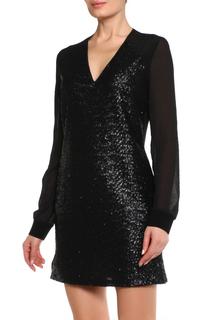 Полуприлегающее платье с пайетками CNC Costume National