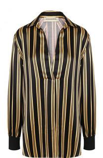 Блуза свободного кроя в полоску By Malene Birger