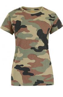 Хлопковая футболка с камуфляжным принтом Polo Ralph Lauren