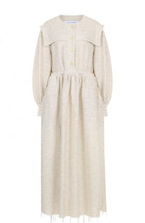 Приталенное платье-миди с круглым вырезом Walk of Shame