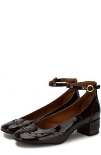 Лаковые туфли Perry на устойчивом каблуке Chloé