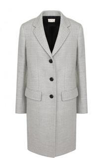 Однотонное шерстяное пальто The Row