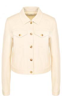 Укороченная джинсовая куртка The Row