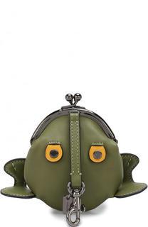 Кожаный кошелек для монет Froggy Coach