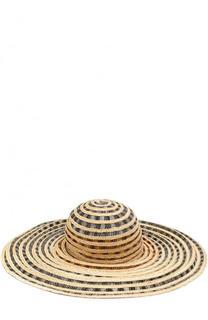 Пляжная шляпа с соломенной отделкой Missoni