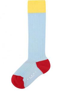 Носки с контрастной отделкой Marni