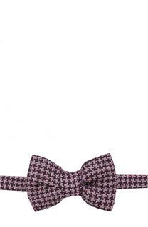 Галстук-бабочка из смеси шелка и льна Tom Ford