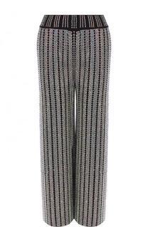 Укороченные брюки свободного кроя с пайетками Gucci