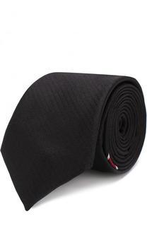 Шелковый галстук с отделкой Givenchy