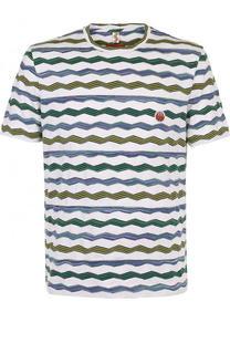 Хлопковая футболка с круглым вырезом Missoni