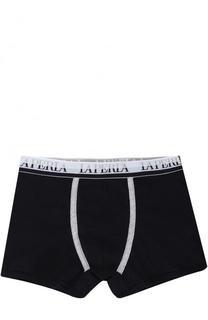 Хлопковые боксеры с логотипом бренда La Perla