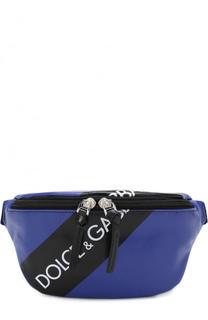 Поясная сумка с логотипом бренда Dolce & Gabbana