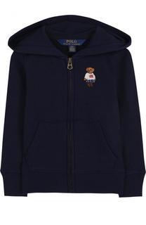 Спортивный кардиган на молнии с капюшоном Polo Ralph Lauren