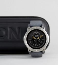 Серые смарт-часы Nixon The Mission - Серый