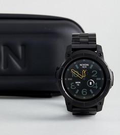 Черные наручные смарт-часы Nixon Mission SS - Черный
