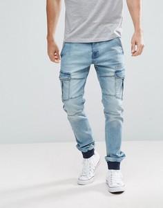 Джинсы карго Voi Jeans - Синий