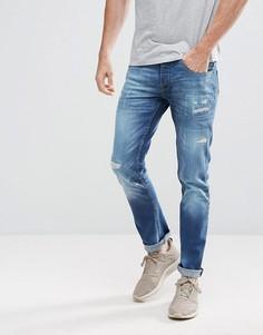 Суженные книзу джинсы Voi Jeans - Синий