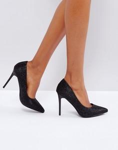 Туфли на высоком каблуке Little Mistress - Черный