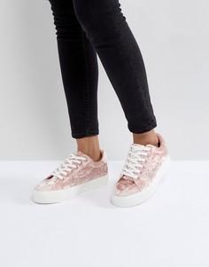 Кроссовки с заклепками Park Lane - Бежевый