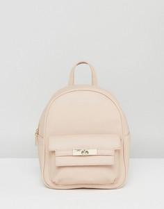 Мини-рюкзак из искусственной кожи Melie Bianco - Кремовый