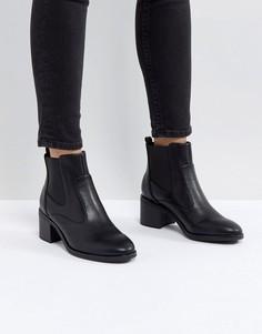Ботинки челси на среднем каблуке St Sana - Черный