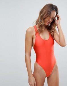 Слитный купальник Glamorous - Красный