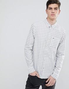 Белая поплиновая рубашка Hollister - Белый
