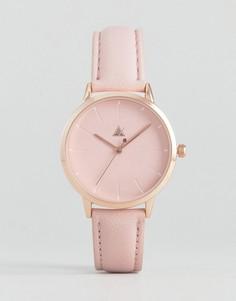 Розовые часы с однотонной разметкой ASOS - Розовый