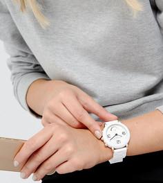 Белые гибридные смарт-часы с браслетом Marc Jacobs Connected MJT1004 - Белый