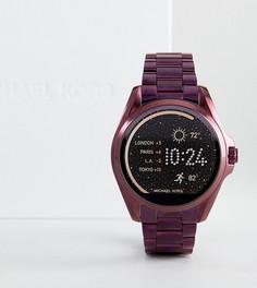 Фиолетовые смарт-часы Michael Kors Access MKT5017 Bradshaw - Фиолетовый
